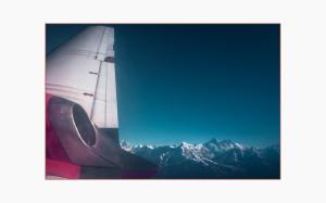 in volo per Katmandu